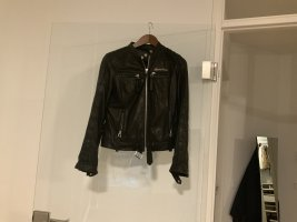 Blessed & Cursed Leather Jacket black leather