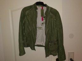 Lederjacke Jacke Damen Milestone