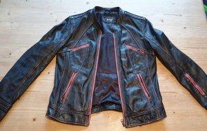 Lederjacke mit zwei Brusttaschen .Maze