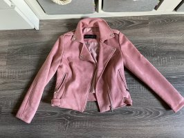 Lederjacke rosa pink nude RoseJacke neu