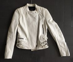Barbara Bui Leather Jacket white