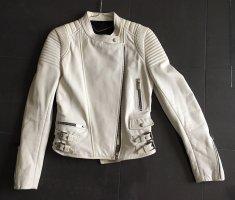 Barbara Bui Leather Jacket white