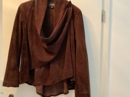 Patago Wraparound Jacket dark brown leather