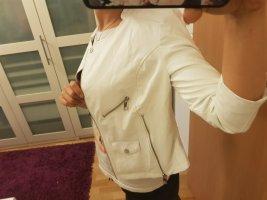 Lederjacke Weiß Größe 36