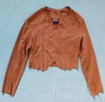 Cigno Nero Leather Jacket cognac-coloured leather