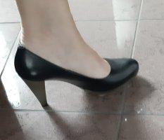 Lederpumps von Maripe in schwarz