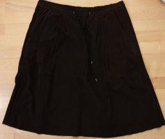 Marc O'Polo Midi Skirt dark brown