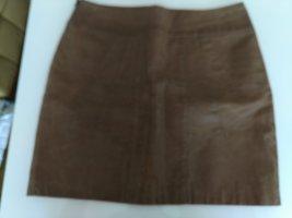 Veto Skórzana spódnica cognac