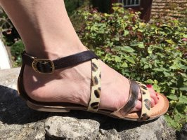 Gioseppo Romeinse sandalen roségoud-lichtbruin
