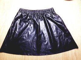 Esprit Faux Leather Skirt black