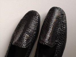 Maripé Slingback ballerina's zwart