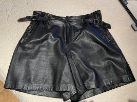 Set Pantalone in pelle nero Pelle