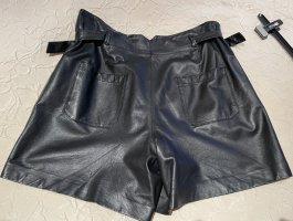Set Skórzane spodnie czarny Skóra