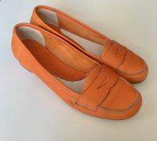 Mocassins orange