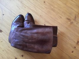 Jackboots brown leather