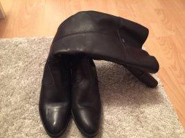 ara Heel Boots black leather