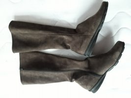 Arche Jackboots grey brown leather
