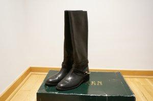 Ralph Lauren Botas de equitación negro-amarillo