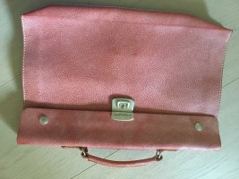 AG Spalding&Bros Briefcase salmon leather