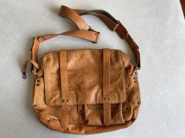 aunts & uncles Handbag cognac-coloured leather