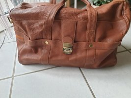 Merlyn Weekender Bag cognac-coloured