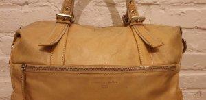 Francesco Biasia Handbag cream leather