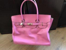 aus Italien Handtas roze