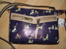 Ledertasche mit kleinen Hunden Liberty by Gionni Tasche Crossbodytasche