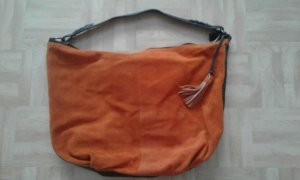 Ledertasche orange/braun Joop