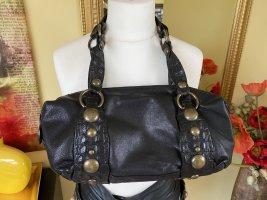 Roberto Cavalli Shoulder Bag dark brown