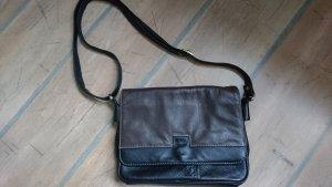 Ledertasche, schwarz, von PASCAL - Vintage -Top Zustand