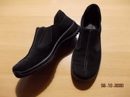 Legero Slip-on noir cuir