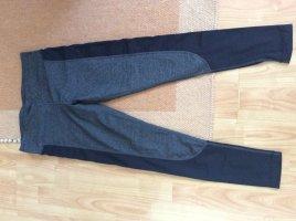Legging zwart-antraciet Nylon