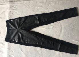 Leggings aus Materialmix