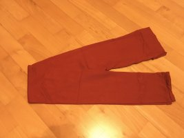 Leggings Strumpfhose Ohne Fuß Rot Gr. S 36/38 Neu