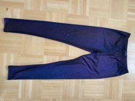 Gothicana by EMP Legging violet foncé-bleu foncé