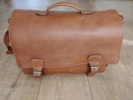 College Bag brown leather