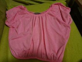 Atmosphere Top sin hombros rosa
