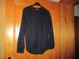 C&A Bluzka z długim rękawem ciemnoniebieski Bawełna