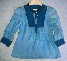 Leichte Bluse Cropped Jeans Gr.34/XS