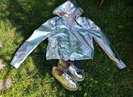 Leichte Jacke Silber 36 H&M Coacella