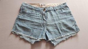 Leichte Shorts in Jeansoptik