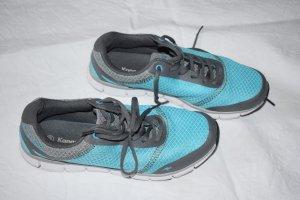 leichte Sneaker von Kangaroos in grau türkis in Größe 38