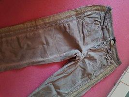 BC Pantalon cinq poches gris brun tissu mixte