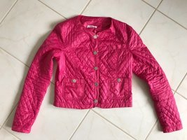 Blugirl Folies Quilted Jacket raspberry-red-pink