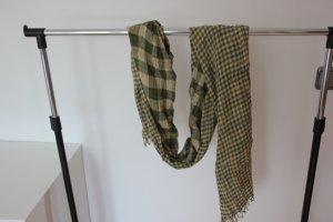 Hilfiger Sjaal met franjes olijfgroen-donkergroen
