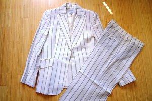 Zara Woman Trouser Suit natural white-black