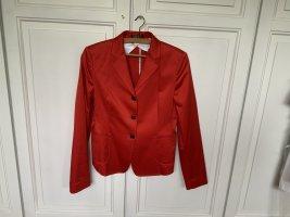 Strenesse Short Blazer red cotton