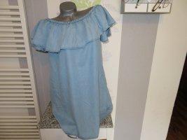 Leichtes Damen Jeans Blusen Tunika Shirt Größe L von Zara (Nr1387)