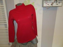 Street One Camisa de cuello de tortuga rojo